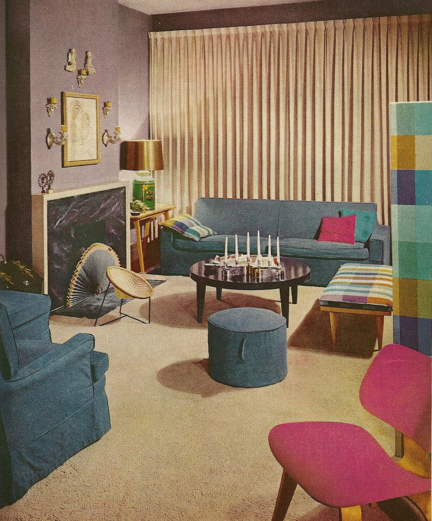 Vintage Home Decor 1960 8