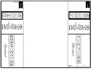 Fiction & Non-Fiction Foldable Interactive Notebook