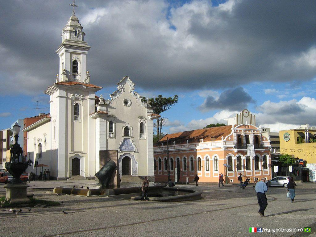 Curitiba (PR) - Igreja www.italianobrasileiro.com   #Paraná  