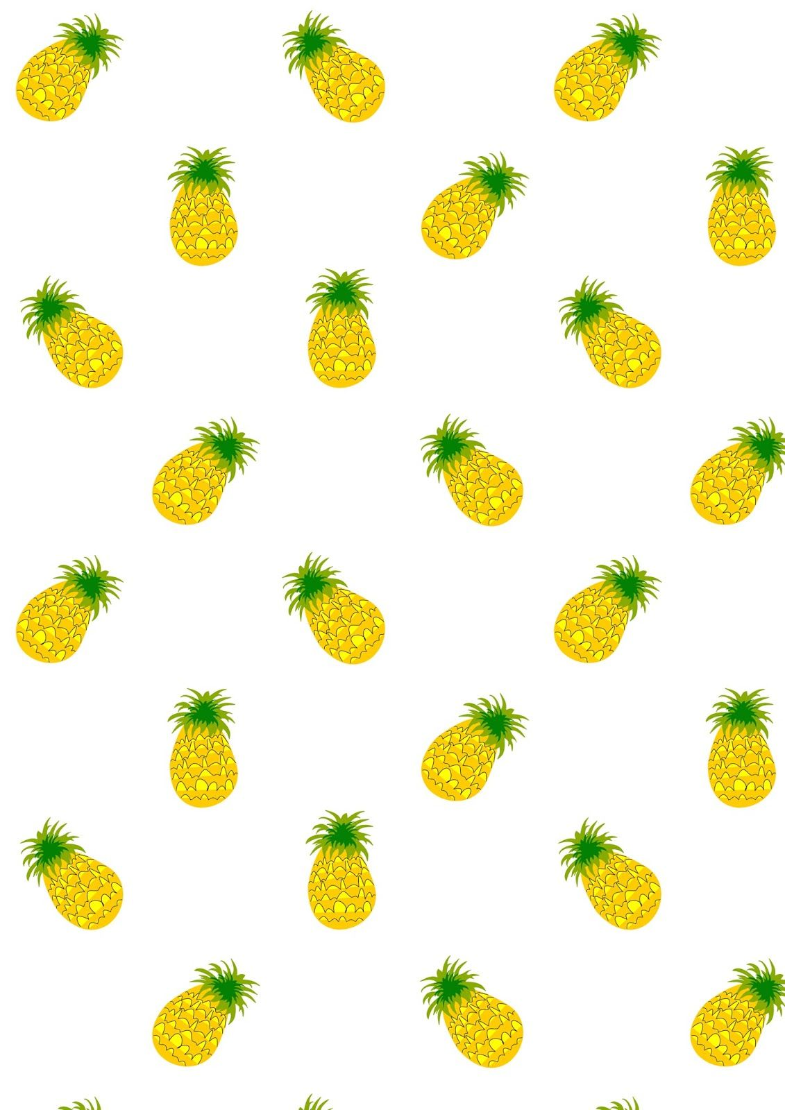 photograph regarding Pineapple Printable known as No cost printable pineapple routine paper #fruitysummer