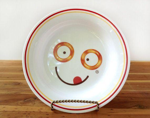 Vtg SpaghettiO/'s Corelle Corning Microwavable Advertising Pasta Bowl 90/'s