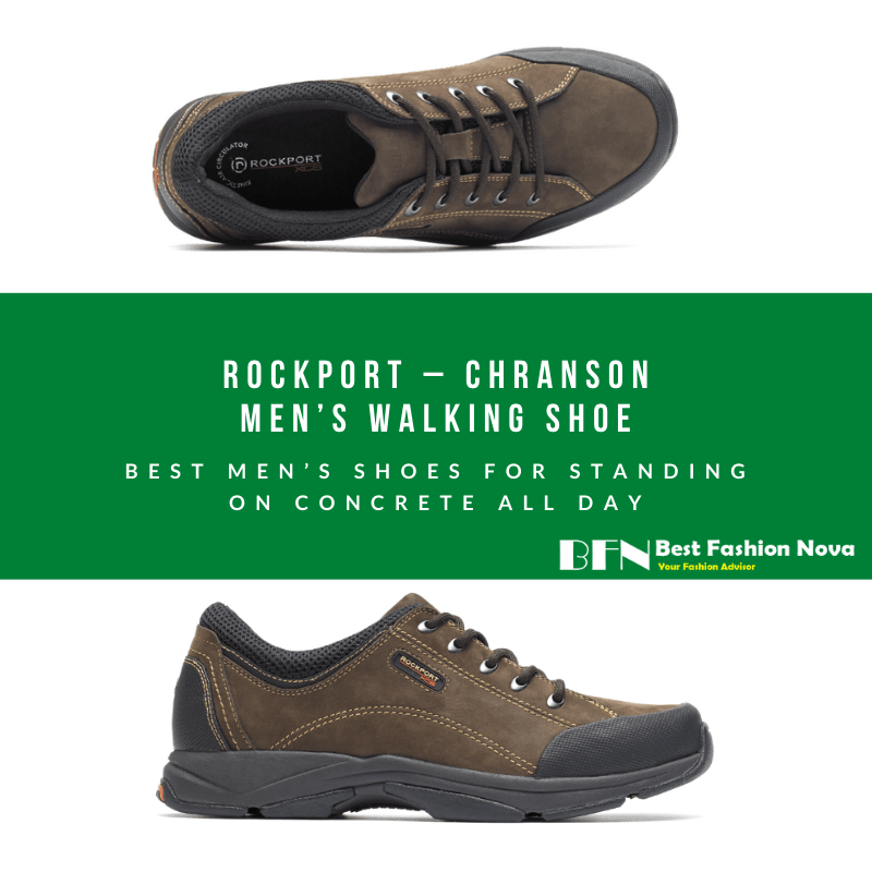 best men's shoes standing concrete all day