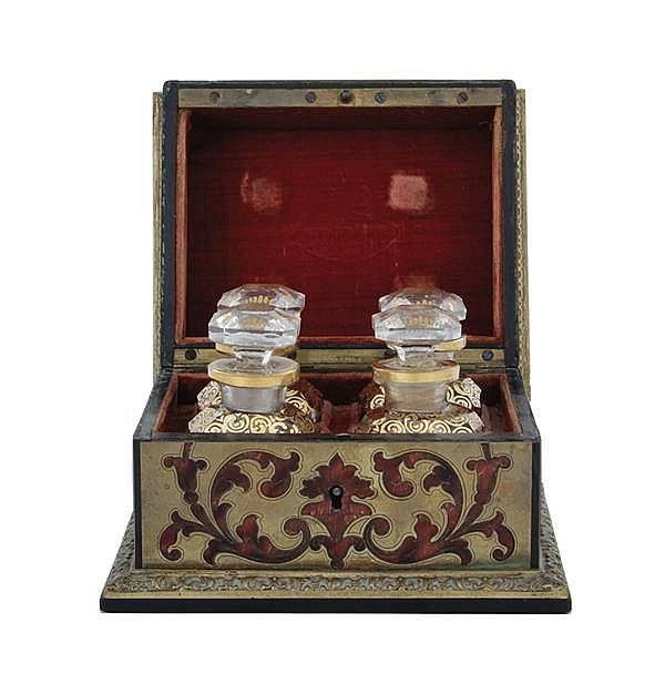 Fine French Boullework perfume box
