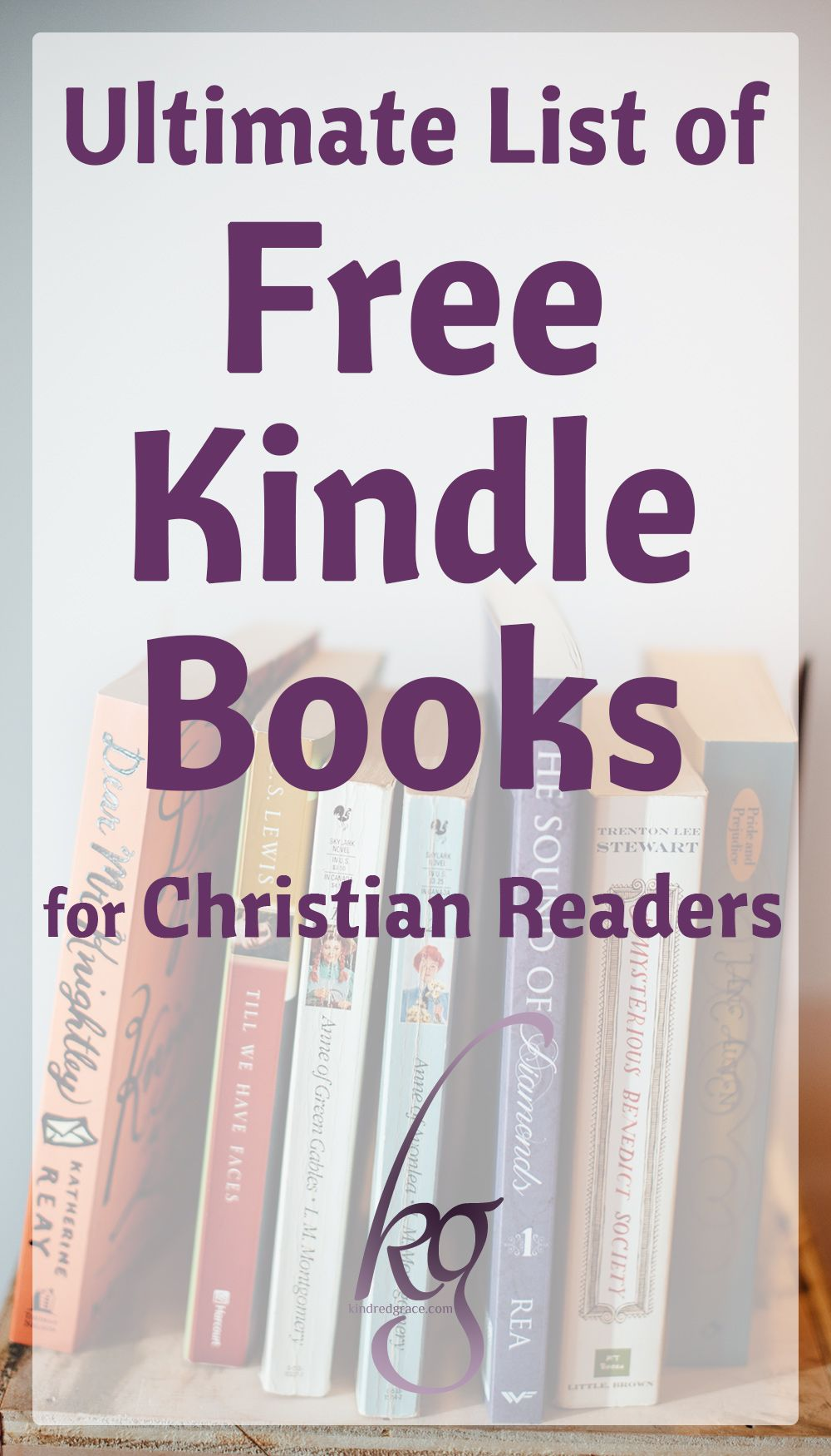 Ultimate List of Free Kindle Books for Christian Readers | Great