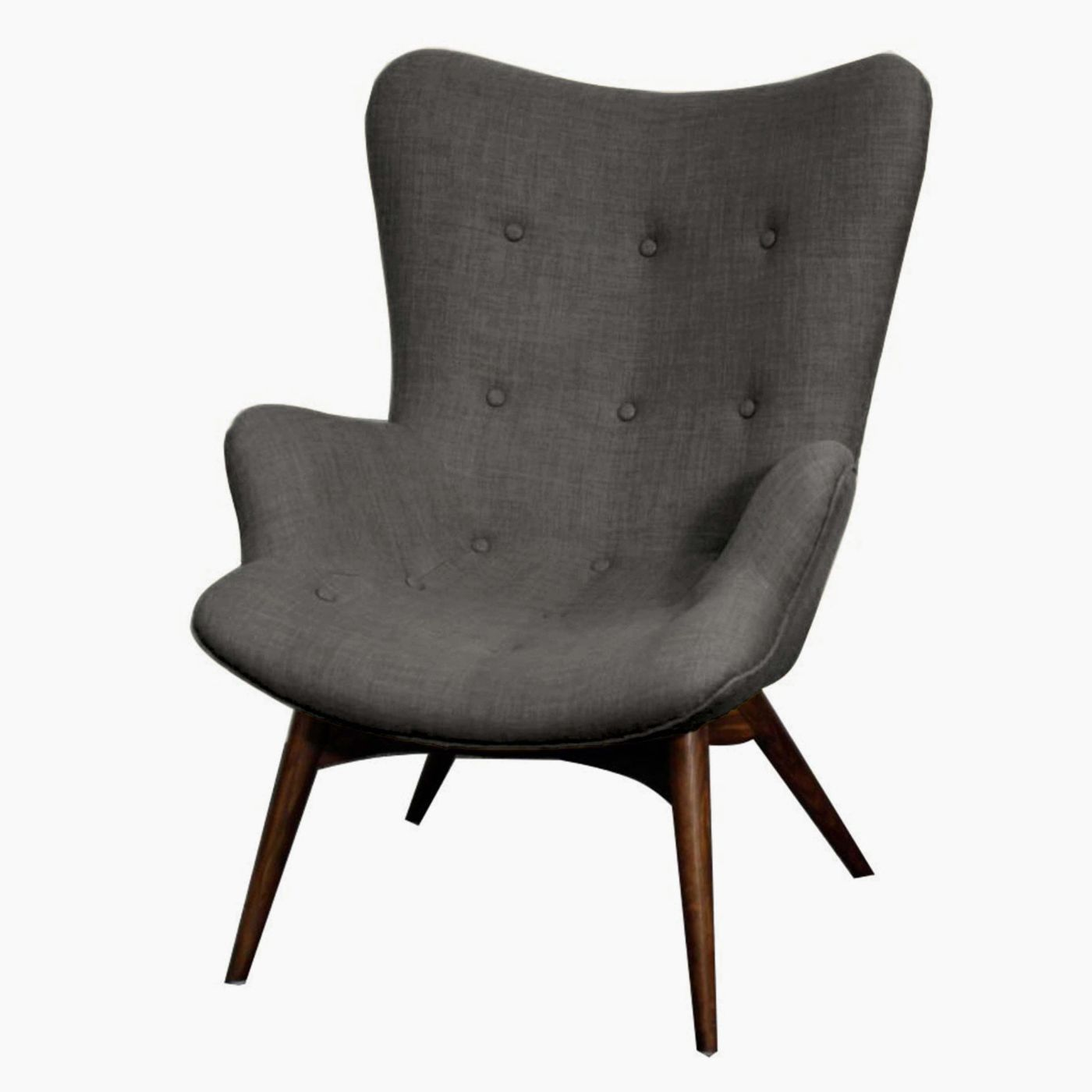 Cool Sadie Arm Chair Dark Walnut Legs Rock Products Accent Ncnpc Chair Design For Home Ncnpcorg