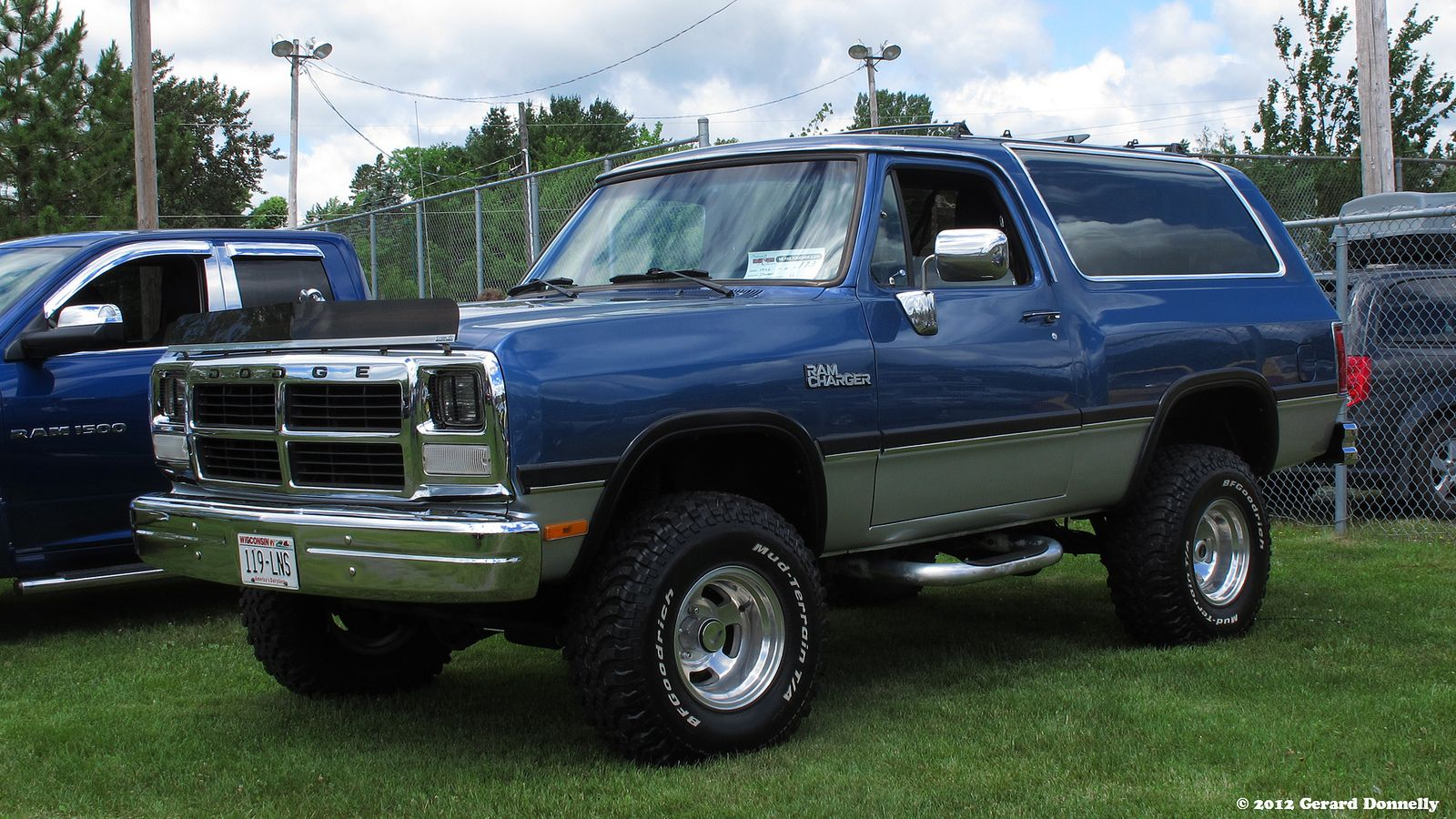 1992 dodge ram charger by gerard donnelly
