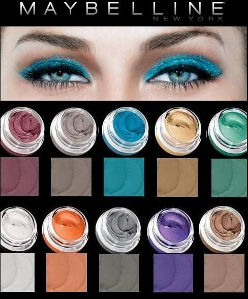 Maybelline Eye Studio color tattoo 24hr cream gel shadow | WAKE UP ...