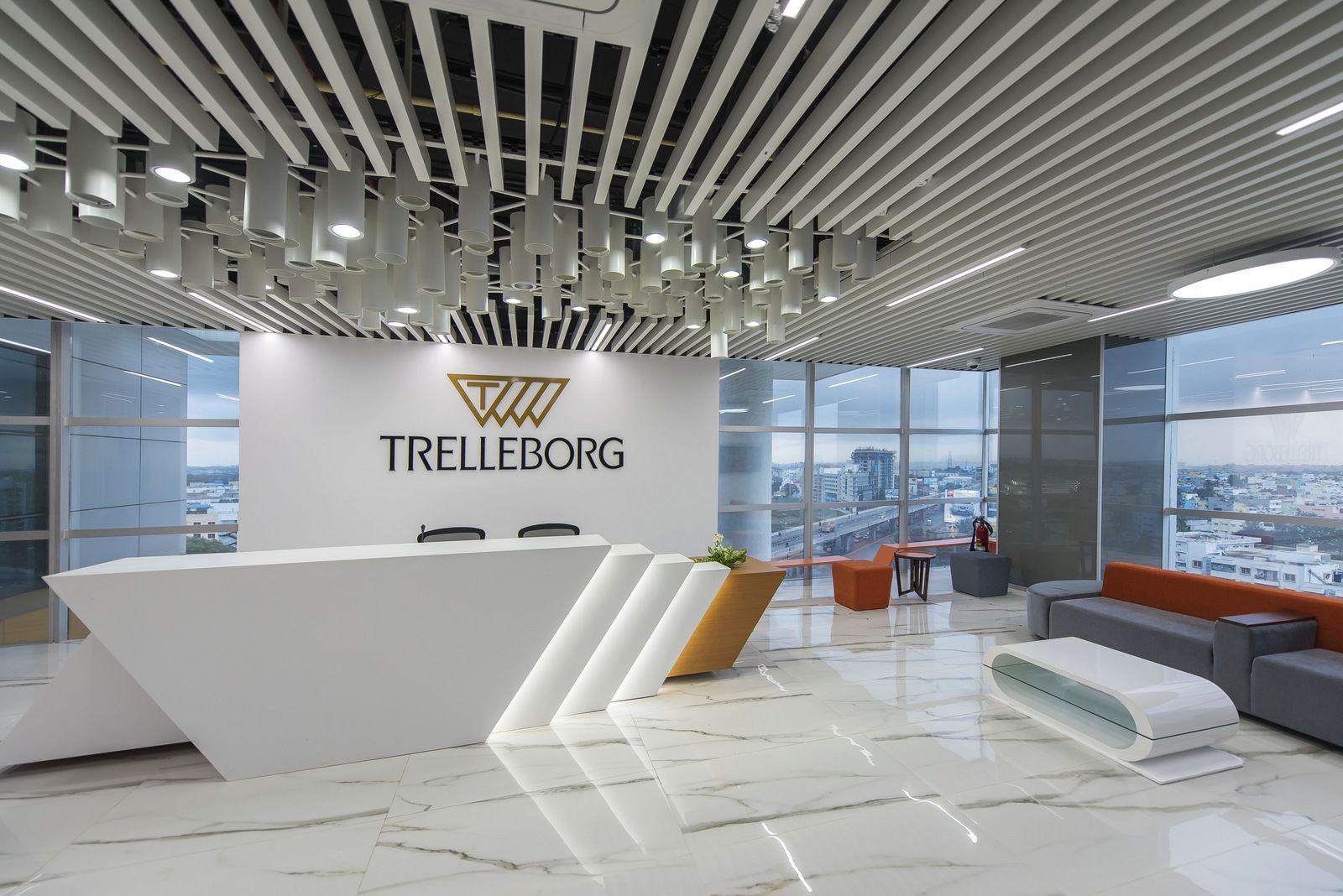 Office Tour Trelleborg Offices Bangalore Recep Es