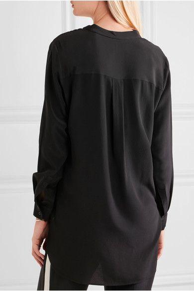 31ee4ff8850a1 Joseph - Dara Silk Crepe De Chine Blouse - Black