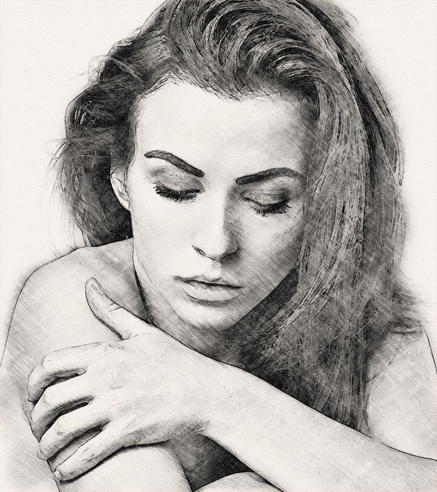 Экшены - GraphicRiver - Pencil Sketch Photoshop Action