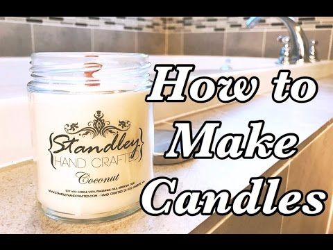 DIY | How to Make Your Own Candles (with Crayons!!) Ft