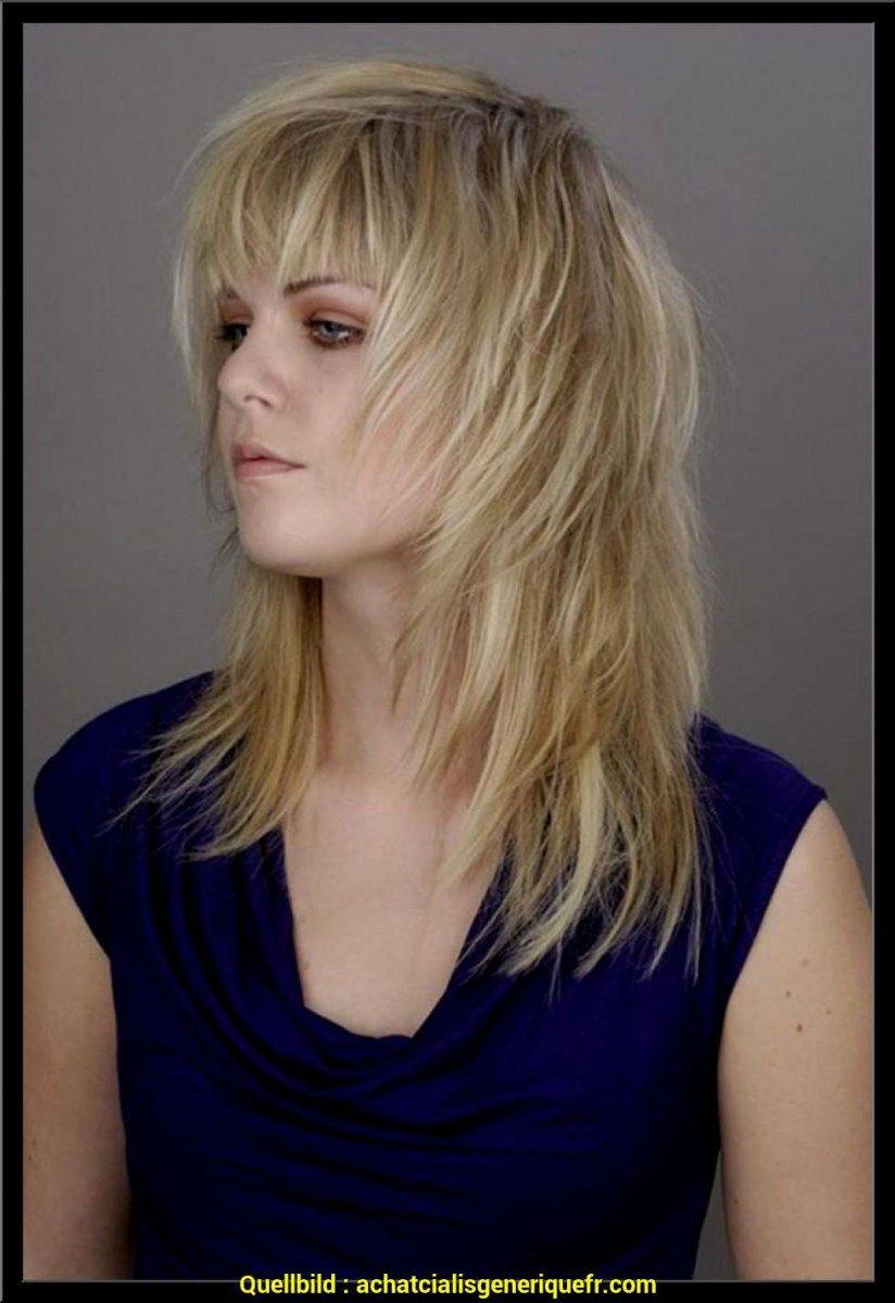 Unterhaltsam Frisuren Schulterlang Gestuft Mit Pony Frisur Damen Haare Frisuren Frisuren Mittellange Haare Stufig Frisuren Schulterlang