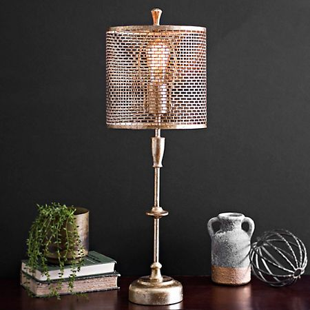 Kirklands Table Lamps Magnificent Gold Metal Edison Bulb Table Lamp Kirklands Living Room