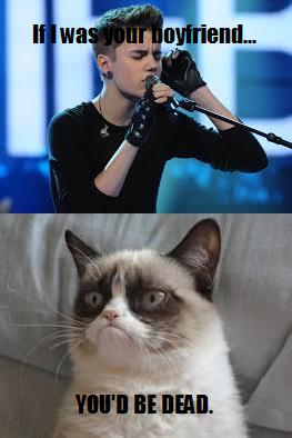 #GrumpyCat #meme For more Grumpy Cat stuff, gifts, and meme visit www.pinterest.com/erikakaisersot