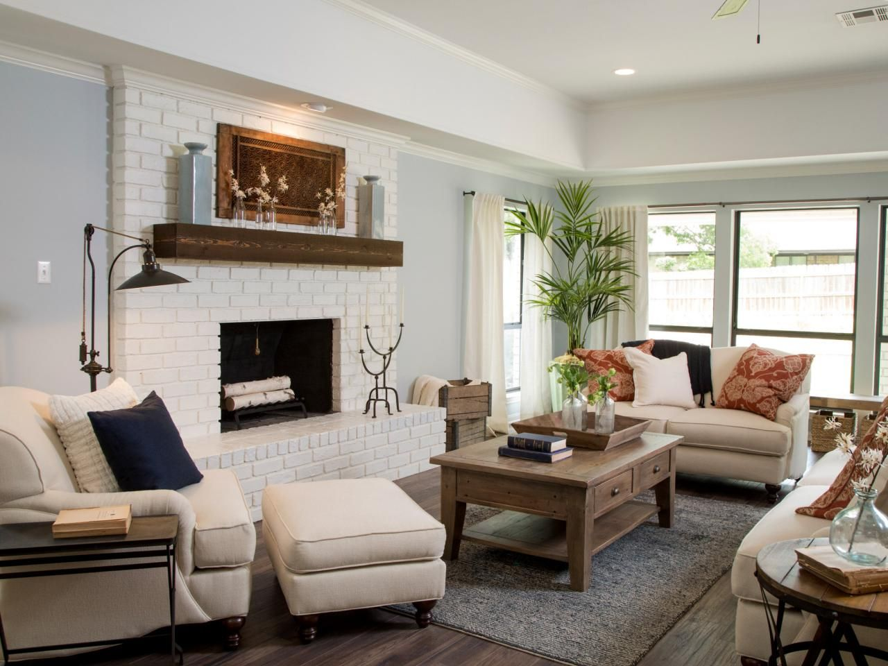 20 living room with fireplace that will warm you all for Upper living room designs