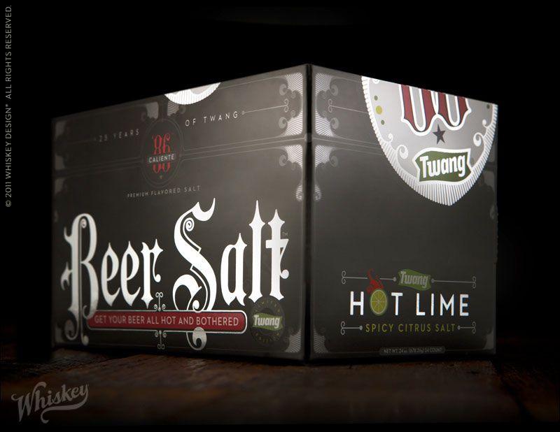 twang beer salt / whiskey design