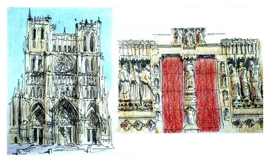 Amiens - la cathédrale - France