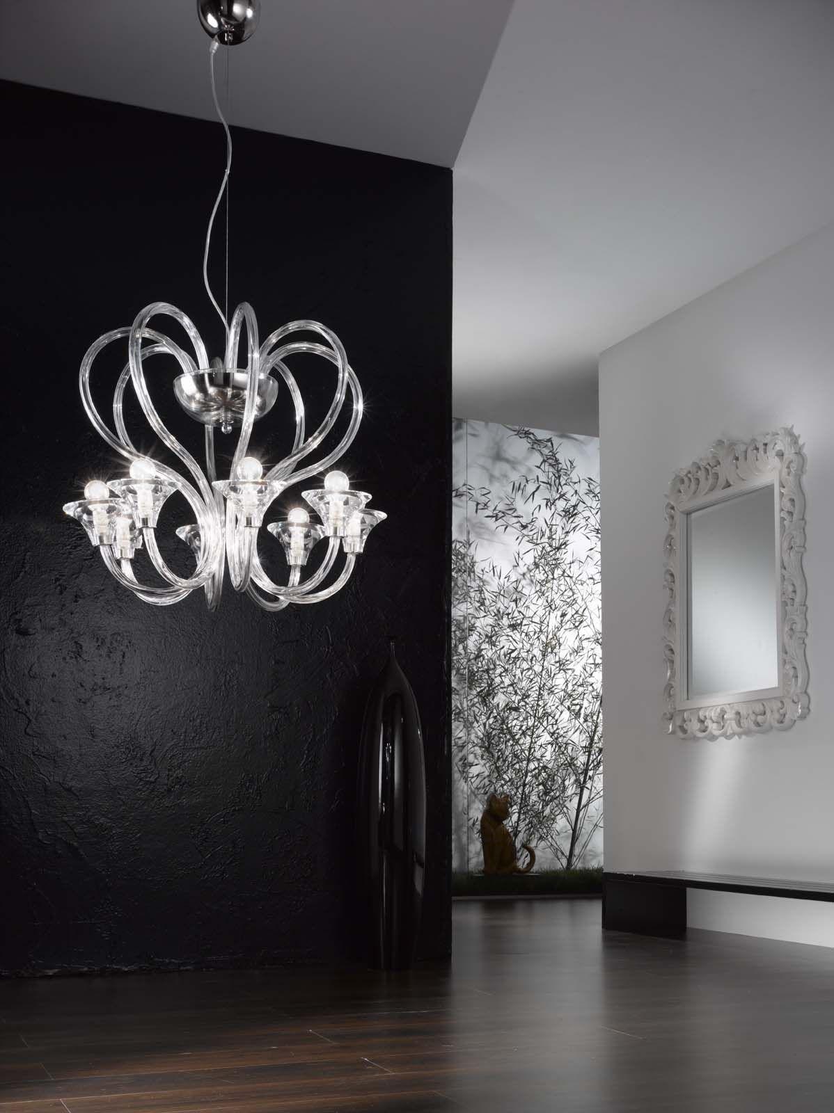 Swan Princess, simply stunning Contact KES Lighting for more information #lighting #home #designer #luxury #chandelier #swan #princess #elegant