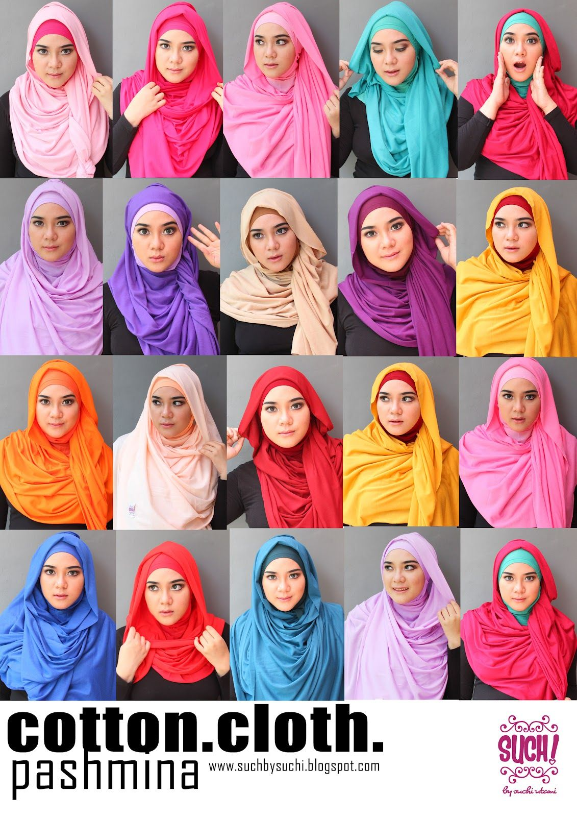 Such By Suchi Utami The Queen Of Cotton Cloth Pashmina Hijab