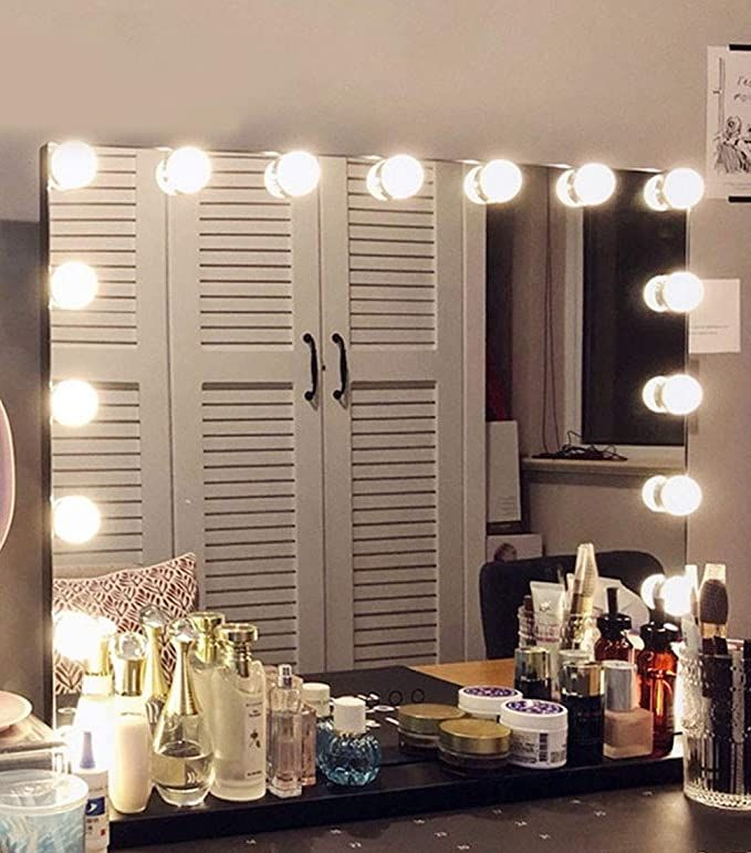Use Code 409c1t31 For 40 Off In 2020 Makeup Mirror With Lights Mirror With Lights Dimmable Led