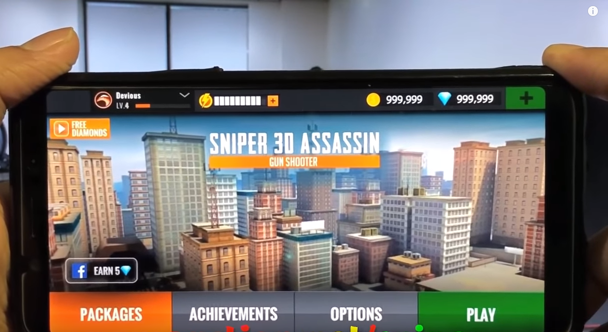 Sniper 3d Assassin Hack Free Diamonds And Coins No Survey