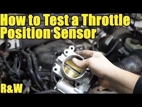 How to Test a Throttle Position Sensor TPS  Without a