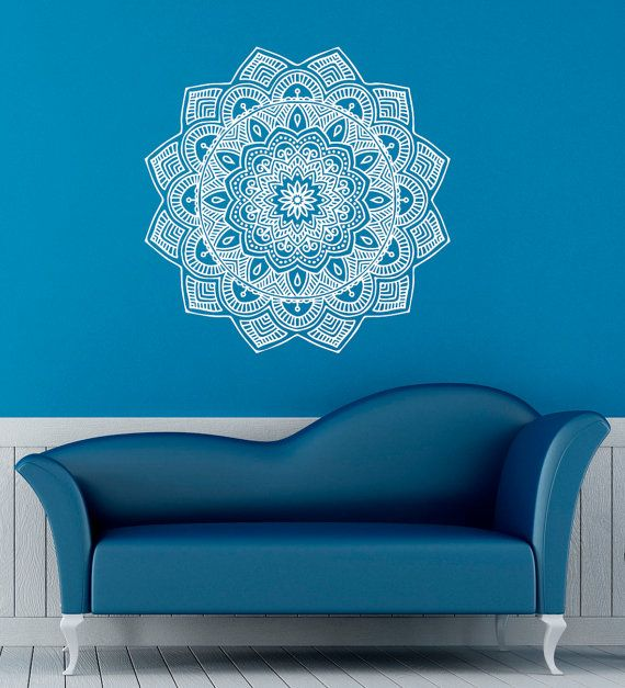 Hey, I found this really awesome Etsy listing at https://www.etsy.com/listing/228929617/mandala-wall-decal-indian-pattern-vinyl