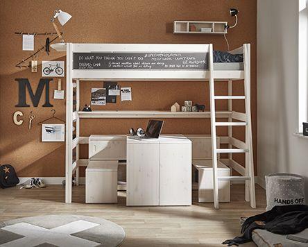 Lifetime Halfhoogslaper Met Bureau.Play Store Hoogslaper Met Een Bureau Onder Bed Trap