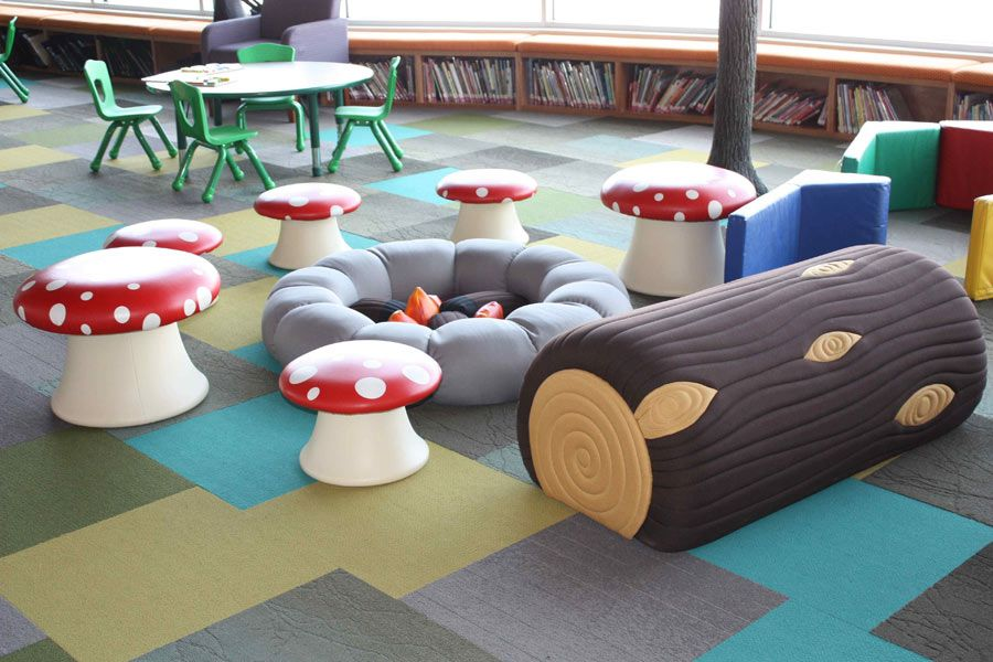 Library Furniture Children Library In 2019 Library Furniture