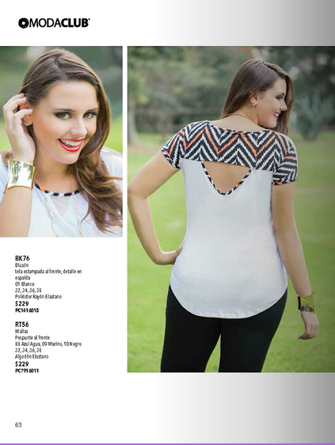 Catalogo De Ropa Para Llenitas Tendencia De Moda Primavera Verano 2014 Www Catalogomodaclubropa Com Ropa Moda Para Mujer Moda