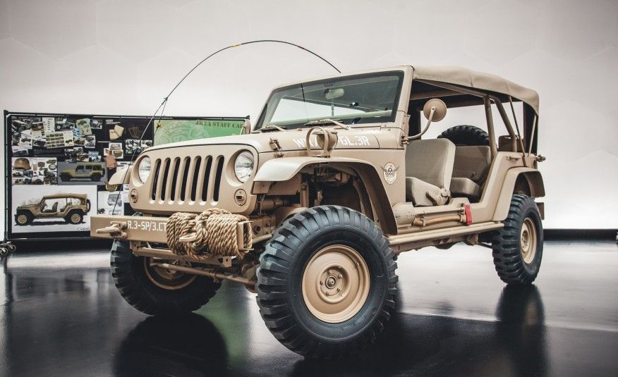 The Magnificent Seven 2015 Jeep Concept Vehicles Headed To Moab