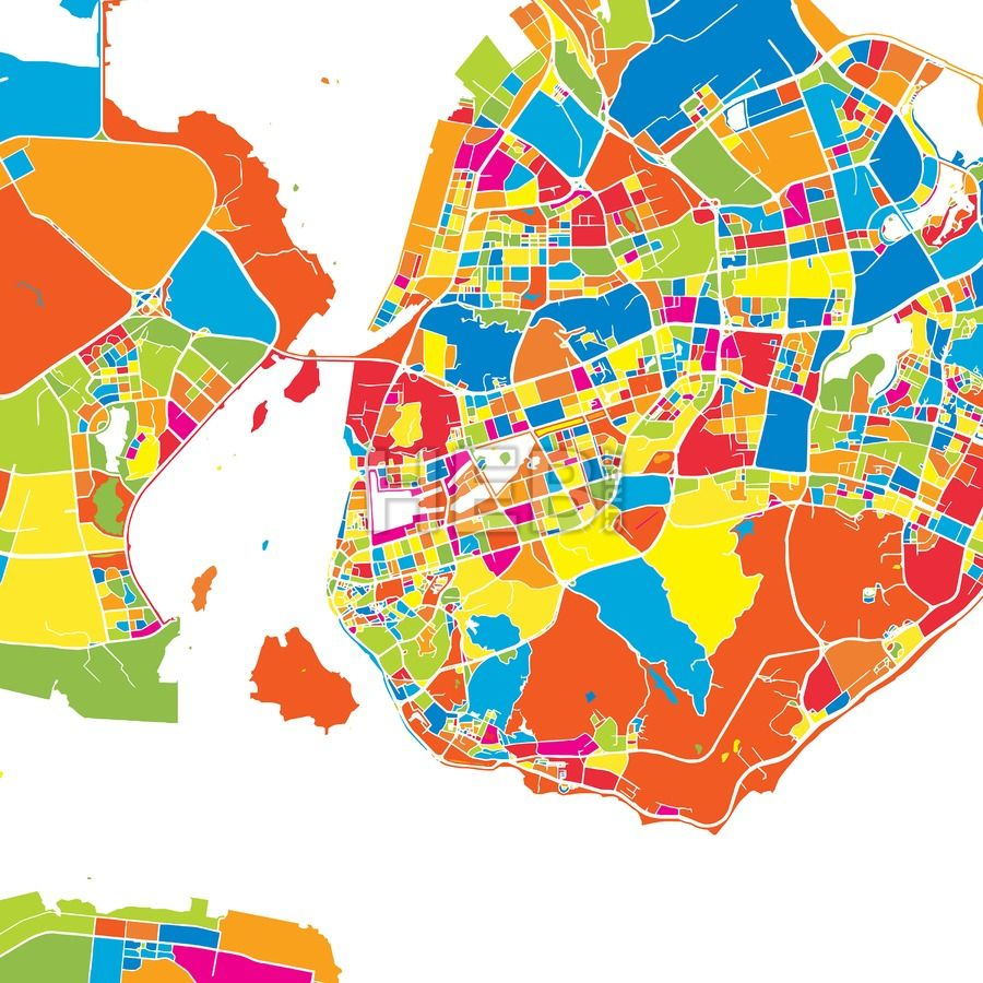 Xiamen china colorful vector map gumiabroncs Gallery