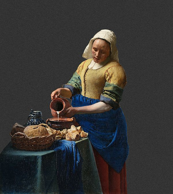 Buy Experimental Museum Artwork,the elegance of the kitchen maid ...