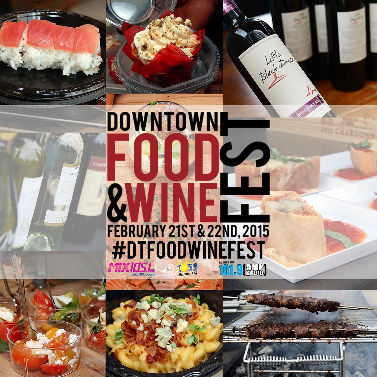Downtown Food Wine Fest At Lake Eola Returns In February Wine Recipes Food Local Cuisine
