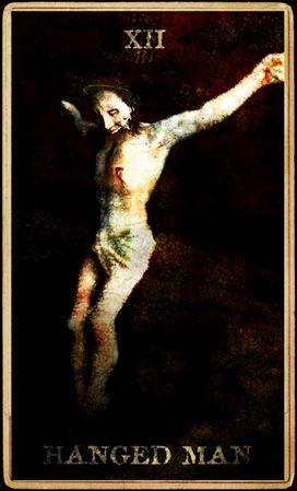 Marilyn Manson | Tarot | Holy Wood | Hanged Man