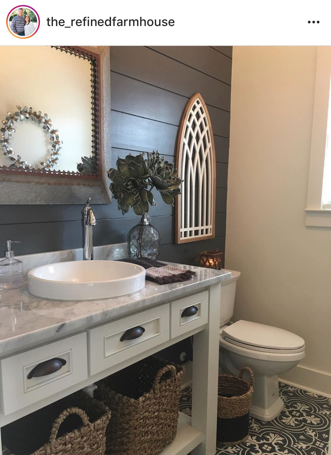 Pin By Melanie Hammett On Bathrooms Shiplap Bathroom Guest Bathroom Small Half Bath Remodel