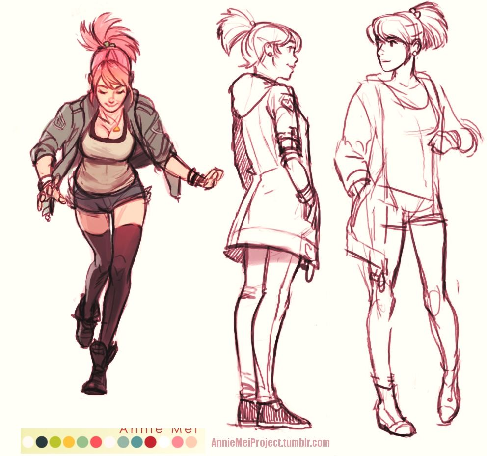 Character Design Parka : Anniemeiproject cargo jackets