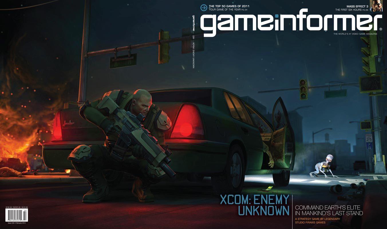 Issue 226 Xcom Enemy Unknown Game Informer Enemy Games
