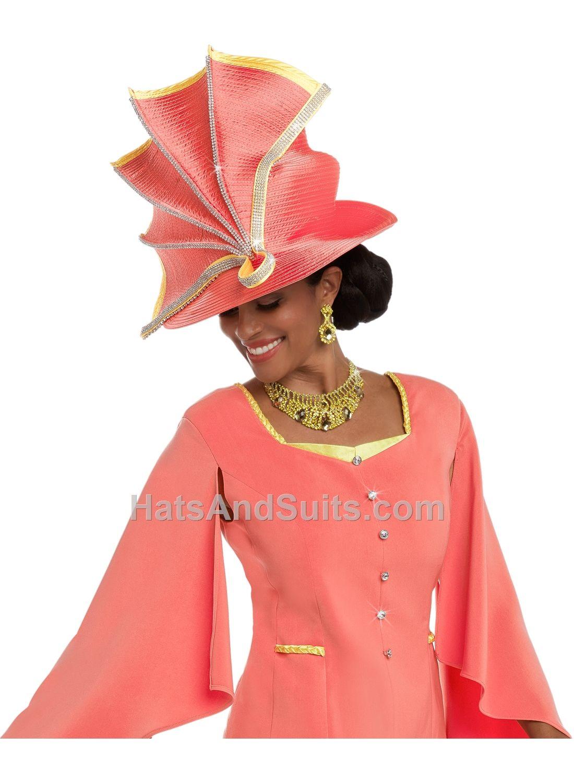 Donna Vinci Couture Church HATS H11565 Spring   Summer 2018  b6f3543d83f