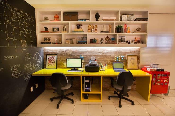 Adorei Essa Parede Inteira Para Escrever Para O Meu Escritorio Mas O Giz Faz Muita Bagunca E Pode Com Imagens Escritorio De Arquitetura Interiores Interiores De Casas