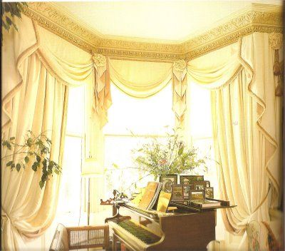 Image Detail For Eight Example Bay Window Treatment Ideas