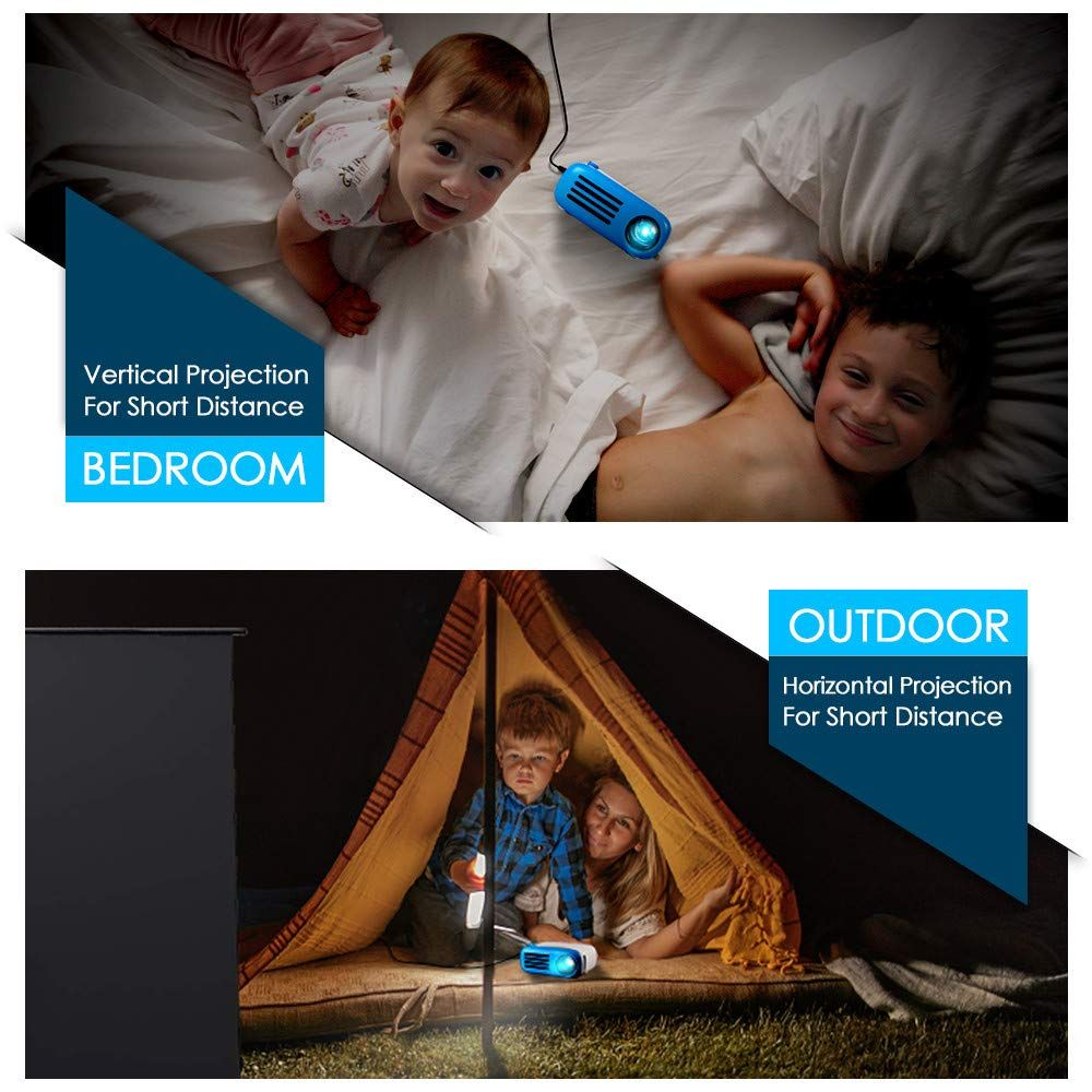 Mini projector goodee led pico projector for