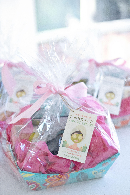 Project Nursery - Spa Gift Basket Teacher Gift & End-of-Year Teacher Gift Ideas | Kids Crafts | Teachers day gifts ...