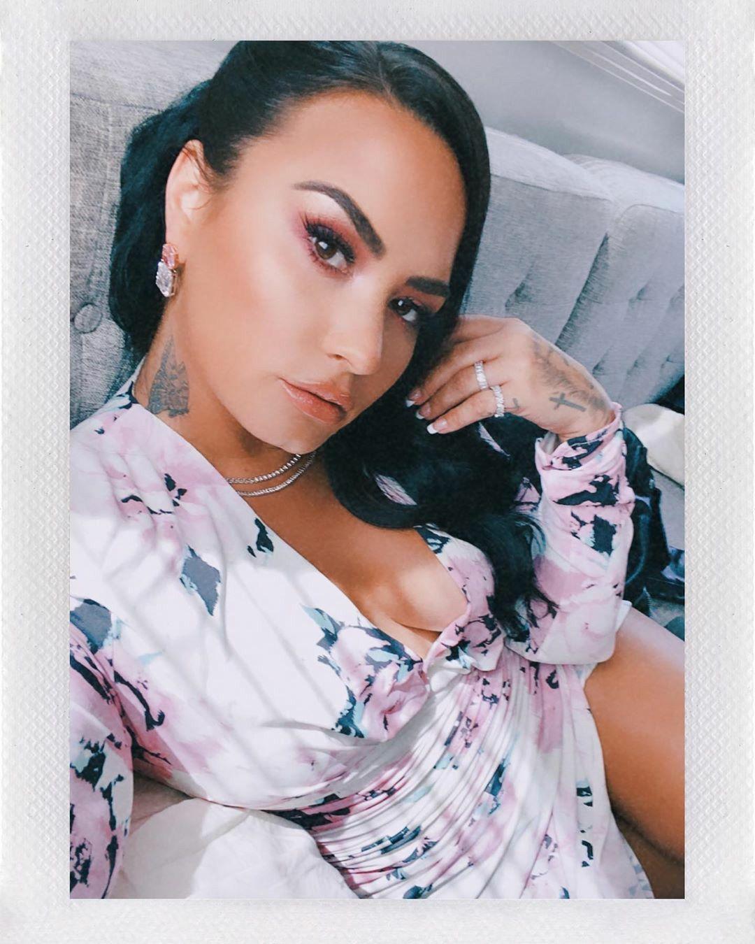Demi Lovato via Instagram in 2020 Demi lovato, Demi, Lovato