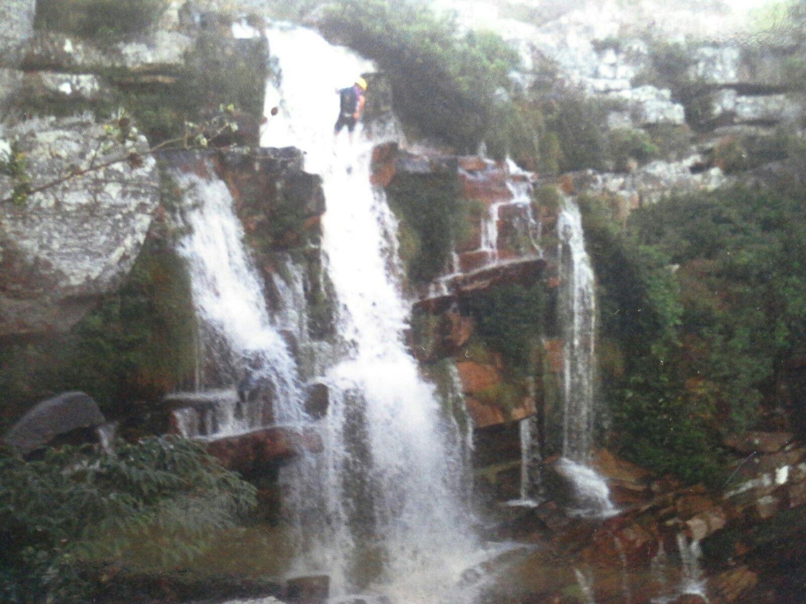 Rapel de  cachoeiras serra do cipó  Minas gerais