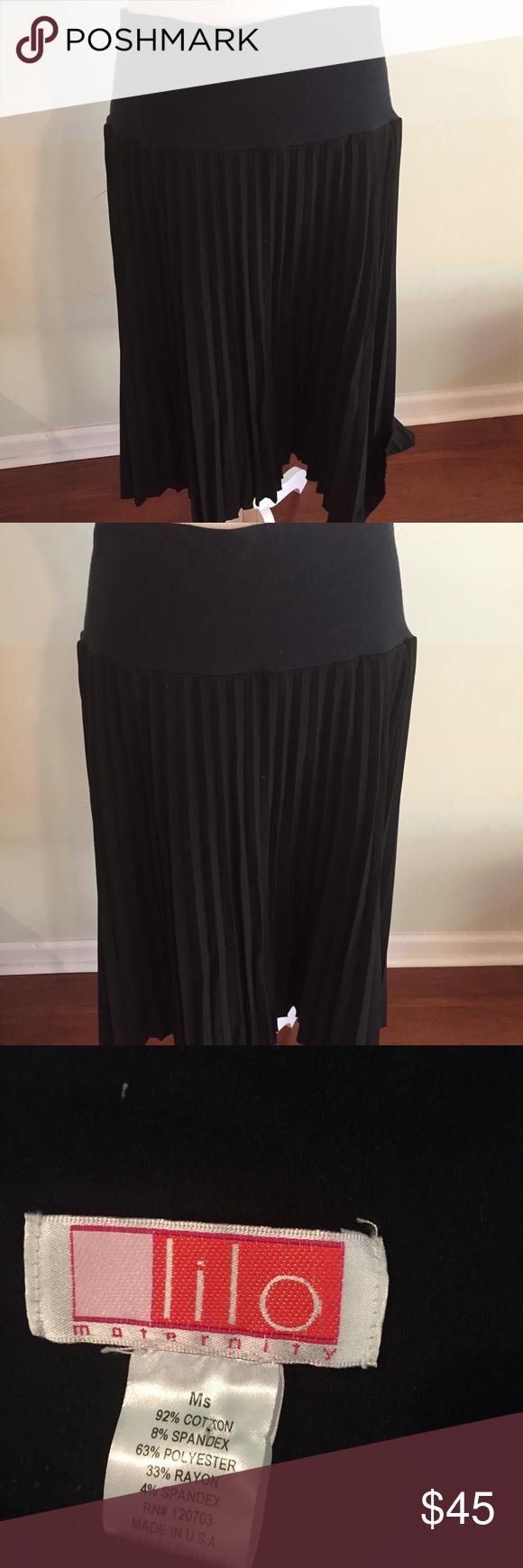019e468c2146e Wear to Work Lilo Maternity Corduroy Pleated Skirt