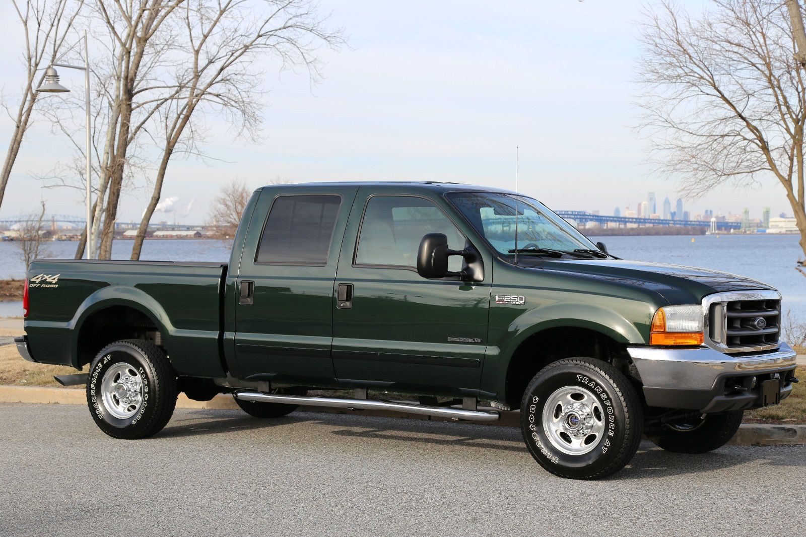 2001 Ford F 250 Lariat 73 Crew Cab Diesel Pickups For Sale 1961 4x4 Truck