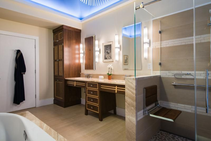 Accessible Bathroom For Seniors And Those With A Disability