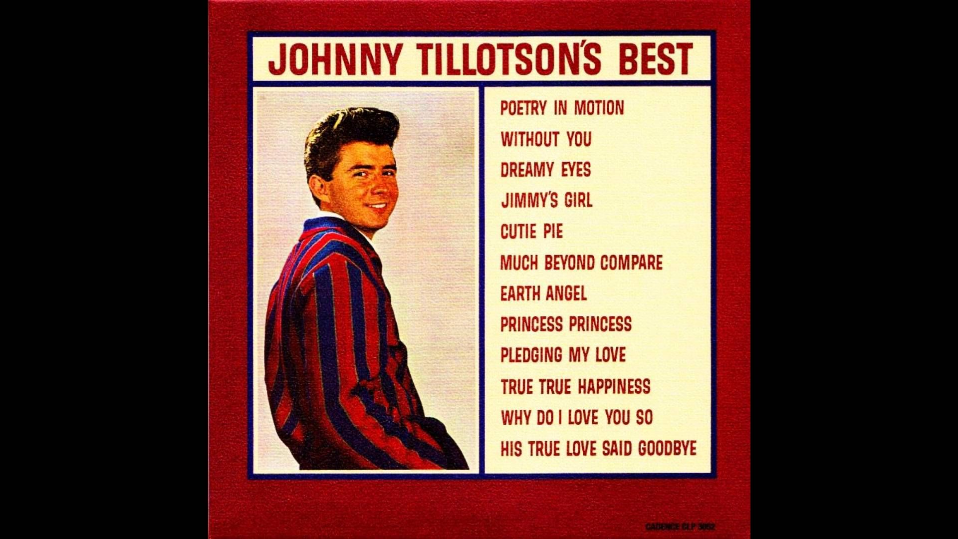 Johnny Tillotson - Johnny Tillotson's best (1962) [CD re-issue with 12 b...