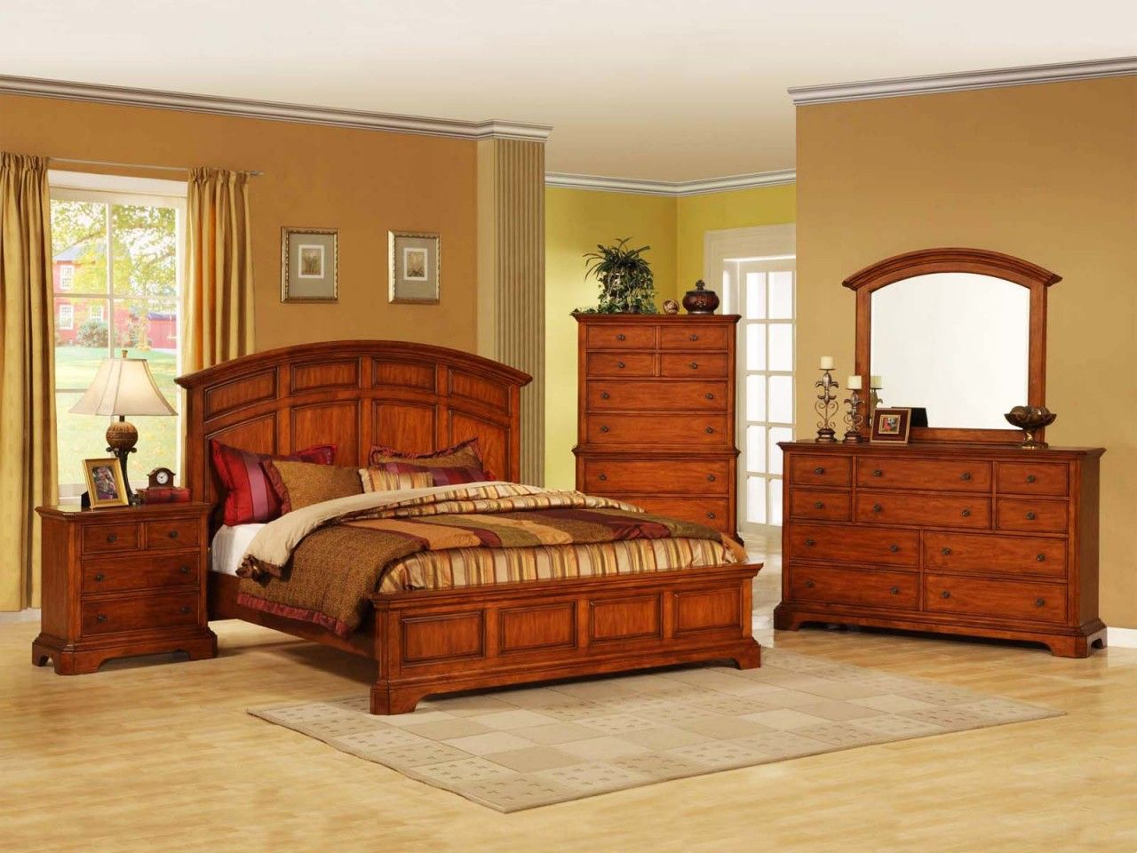New Style Bedroom Furniture Country Style Bedroom Furniture